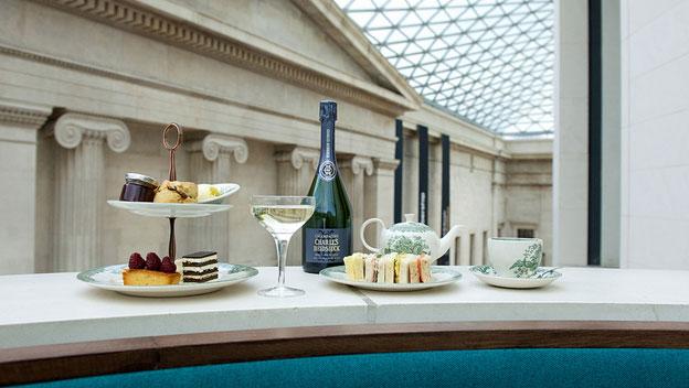 British Museum Afternoon Tea