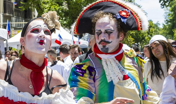 Bastille Day Celebrations in Paris, Fancy Dress